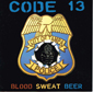 CODE 13, BLOOD, SWEAT, BEER, CD 400