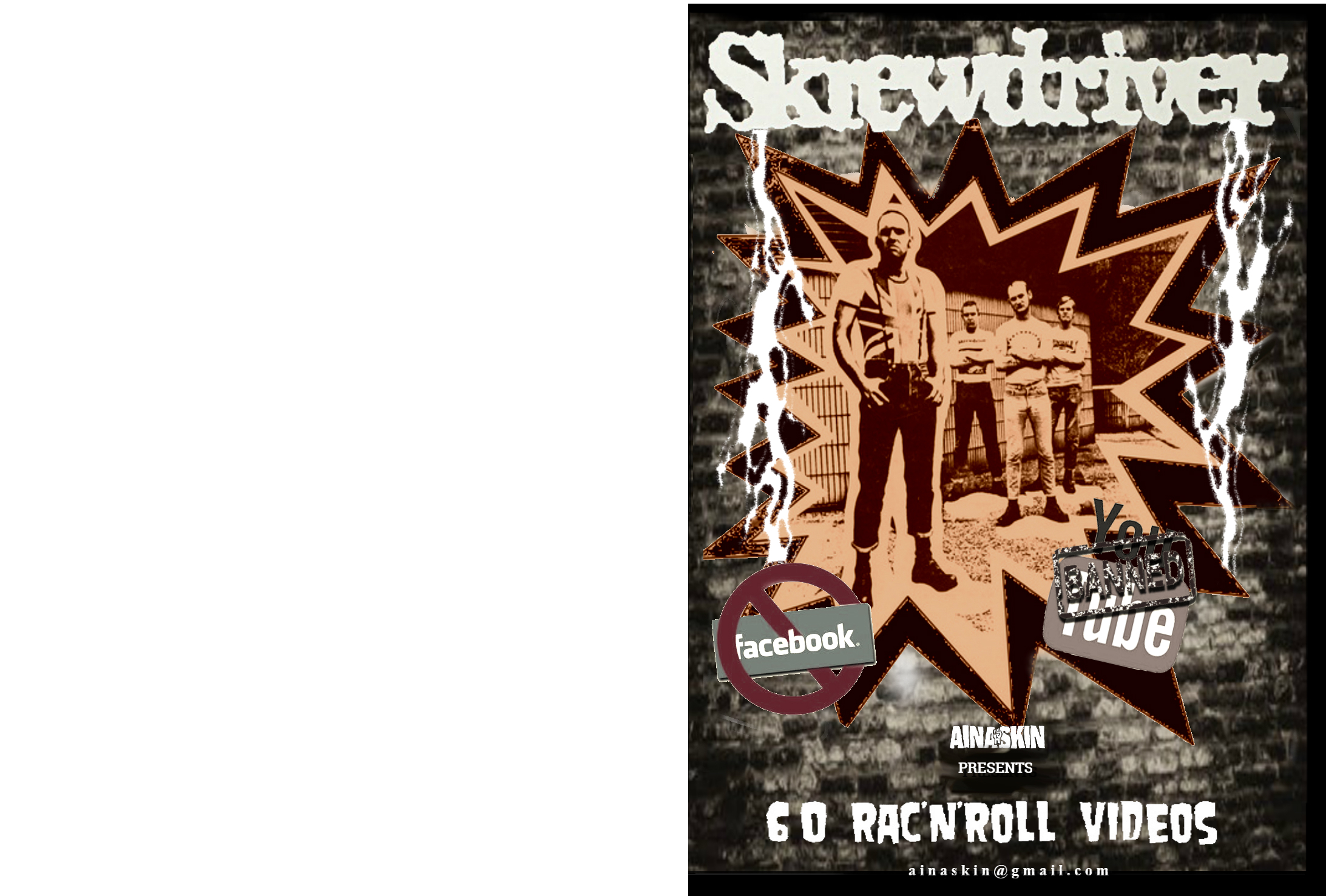 SKREWDRIVER, 60 RAC n' Roll Videos