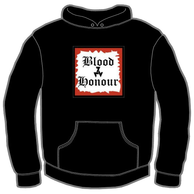 BLOOD AND HONOUR SQ HOODIE 100