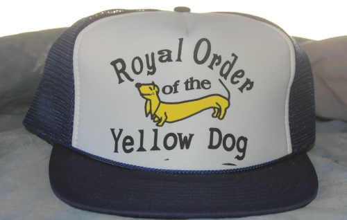 HAT 27 ROYAL ORDER OF THE YELLOW DOG