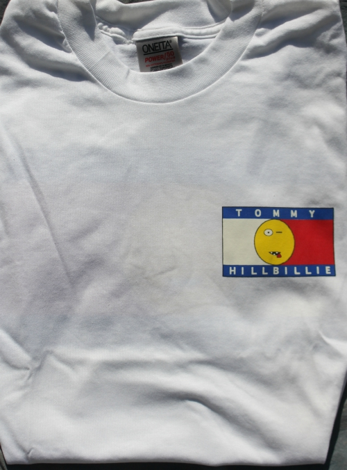 *Limited Edition* SIZE LARGE WHITE TOMMY HILLBILLIE TEE TSH 219