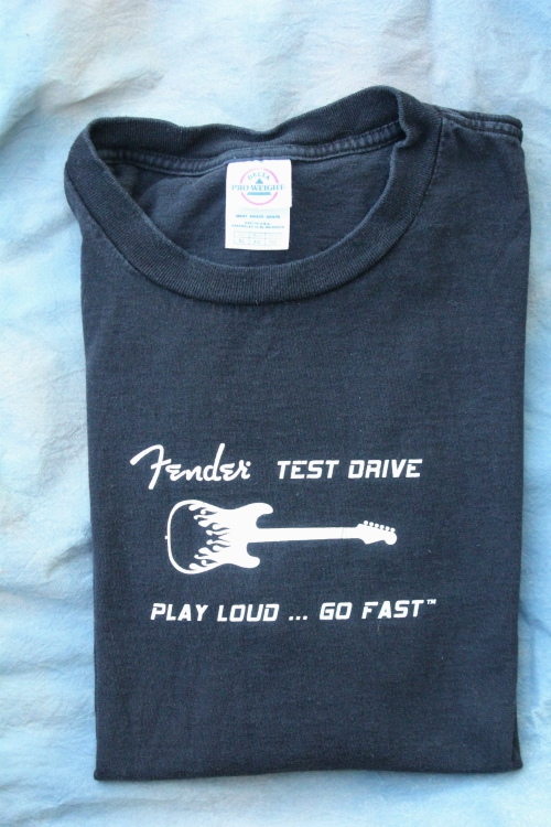 *LIMITED EDITION* FENDER AND THE STONES XL BLACK TEE