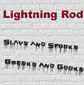 LIGHTNING ROD, SLAVS AND SPOOKS, GREEKS AND GOOKS, CD 518