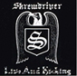 SKREWDRIVER, LIVE & KICKING, CD 519