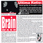 ULTIMA RATIO, BRAIN WASH, CD 585