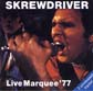 SKREWDRIVER, LIVE MARQUEE '77, CD 708