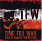 TIME FOR WAR, THIS IS OUR INTRODUCTION, CD 747