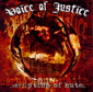 VOICE OF JUSTICE, ERUPTION OF HATE, CD 843