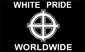 WHITE PRIDE WORLD WIDE FLAG, F-40