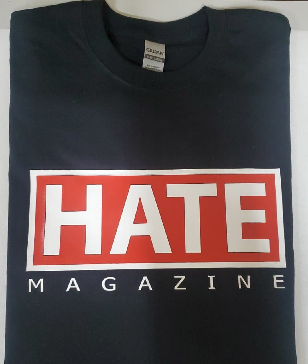 HATE MAGAZINE BLACK TSH-192