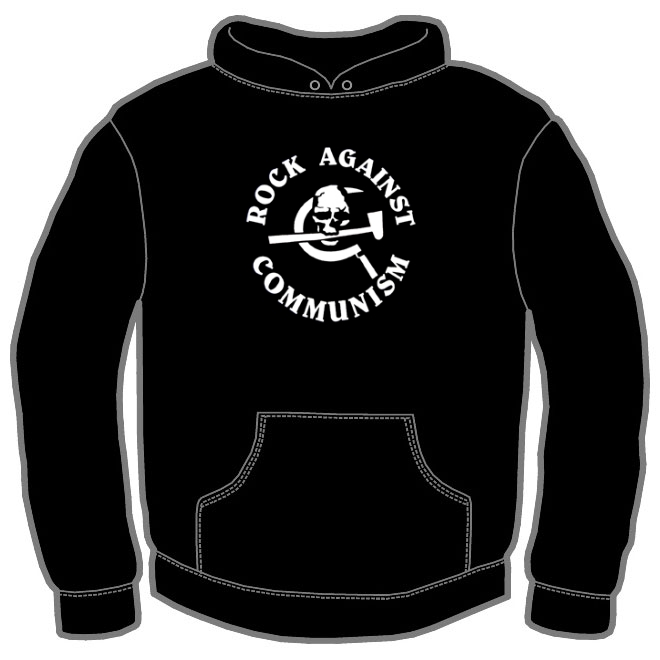 ROCK AGAINST COMMUNISM HOODIE 107