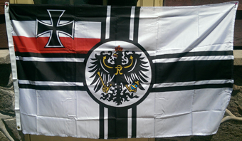 GERMAN IMPERIAL FLAG, F-11 - Click Image to Close