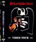 SKREWDRIVER, VIDEO TOUR 1977-1993, DVD 301