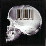 MORE HATE 88, COMPILATION, CD 643