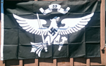 HITLER YOUTH FLAG, F-02