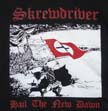SKREWDRIVER, HAIL THE NEW DAWN T-SHIRT, T-SKRHAIL